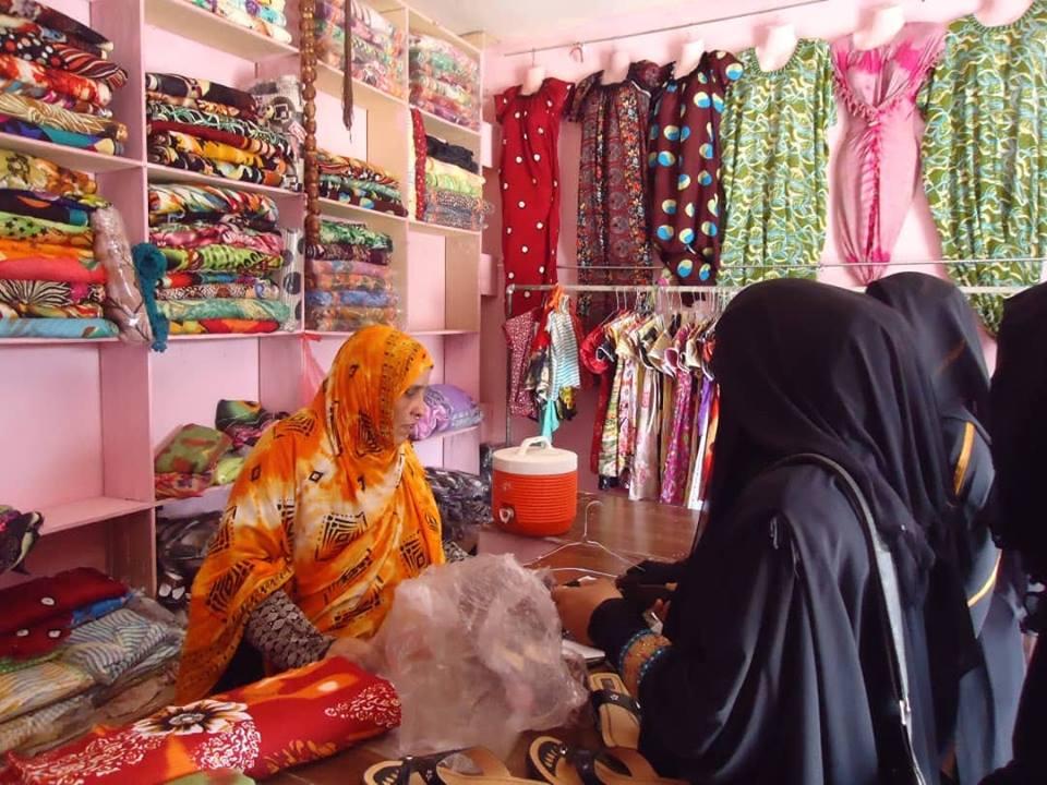 عيدة من بائعة أرصفة في عدن الى تاجرة تصدرير للهند