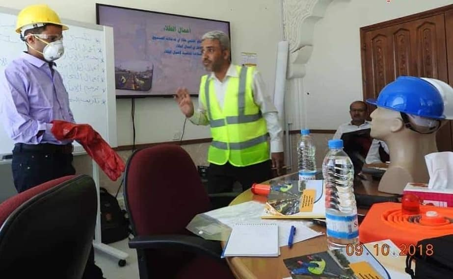 A training program in occupational safety and health concluded