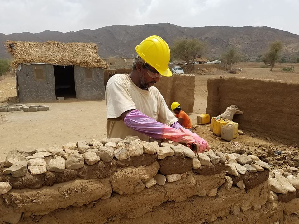Ahmed built his home after 5 years of displacement