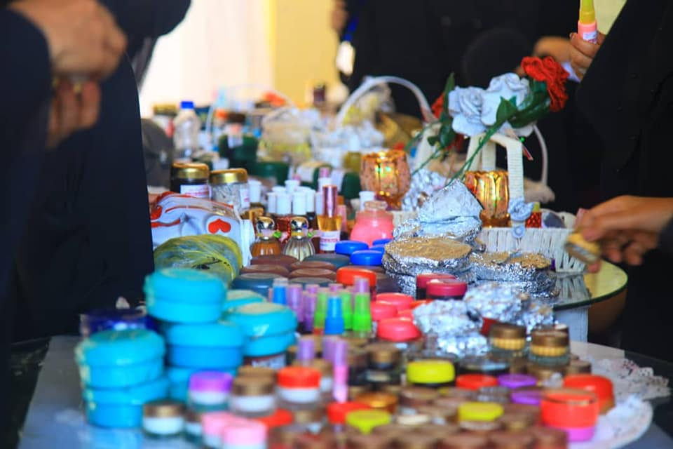 the First Handcraft Marketing Bazar launched in Taiz