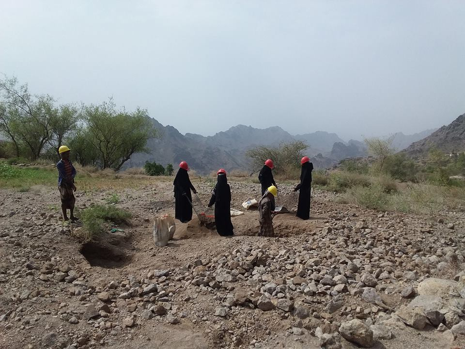 A sanitation project launched for IDPs in Aden