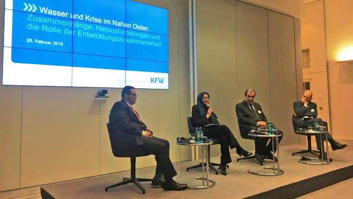 KfW showcased SFD as a successful story in water and crisis conference