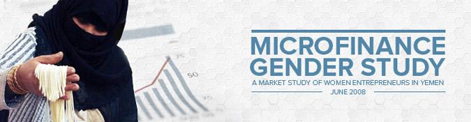 Microfinence gender study